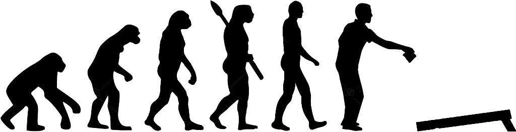 Evolution of a new cornhole player