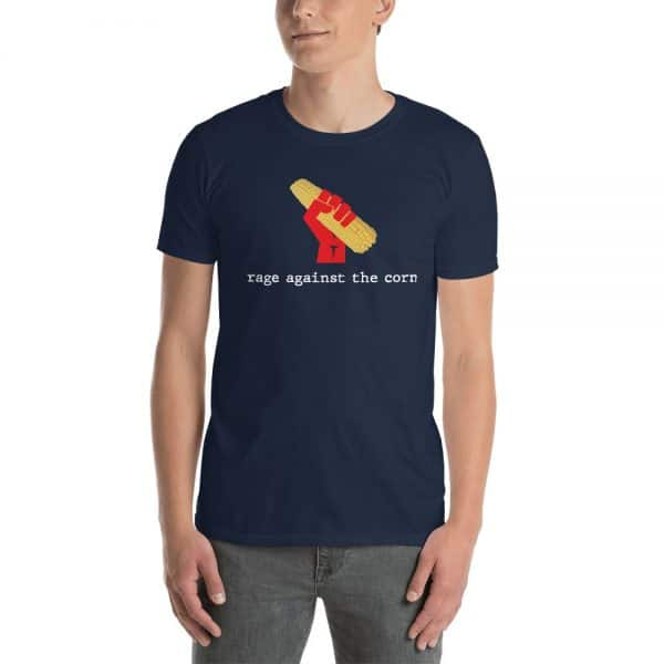 Navy Rage Against The Corn custom shirt and team name