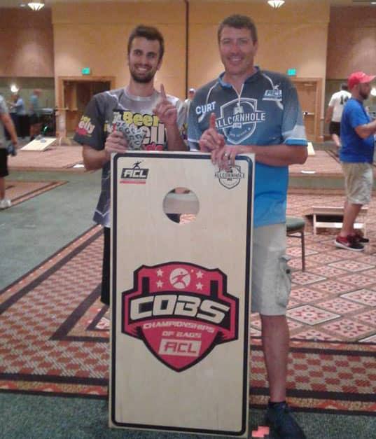 Curt Vogel and Brandon Bobilya