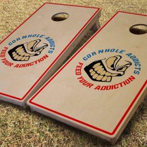 custom cornhole boards for Cornhole Addicts