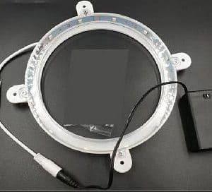 LED Lights for cornhole boards