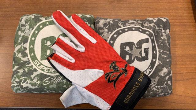 Gladiator glove and BG bags