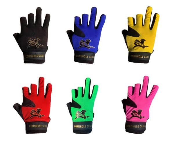 Original cornhole glove colors