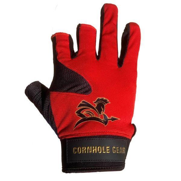Red Pro Cornhole Glove