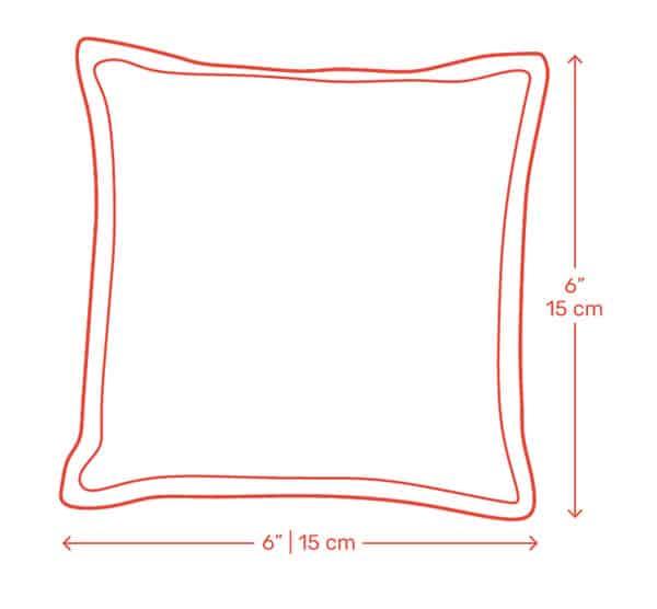 cornhole bag dimensions