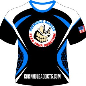 Addicts jersey front