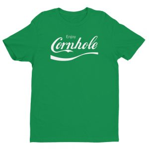 Green Enjoy Cornhole shirt