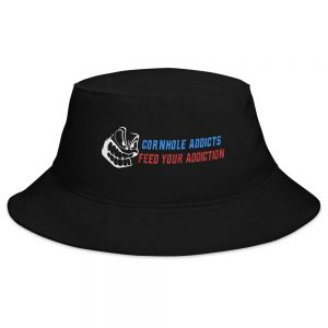 Black addicts bucket hat