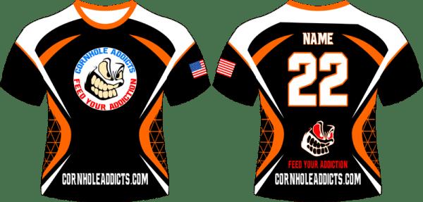 Orange Cornhole Addicts jersey