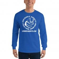 Addicts Long Sleeve Shirt w/Back Logo