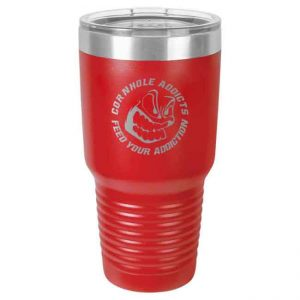 Addicts stainless steel tumbler
