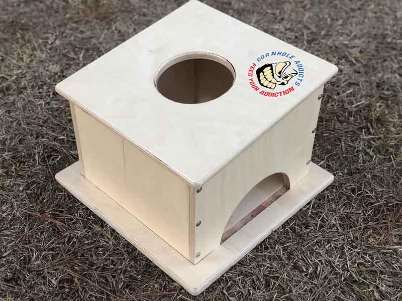 Cornhole Addicts Pro Airmail box