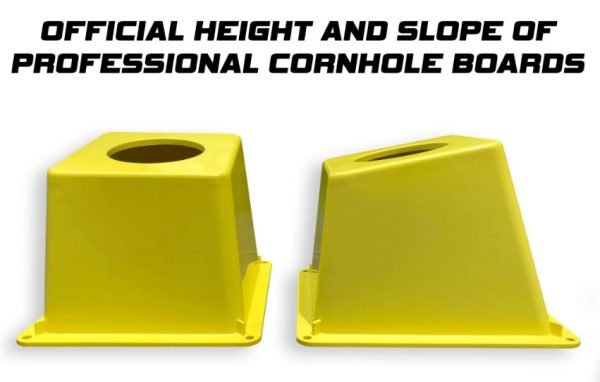 CornholeAce Pro Airmail Box uses official height and slope