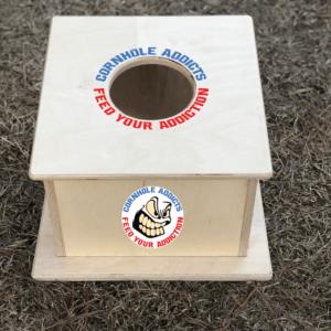 All-Over-Print Cornhole Addicts Airmail Box