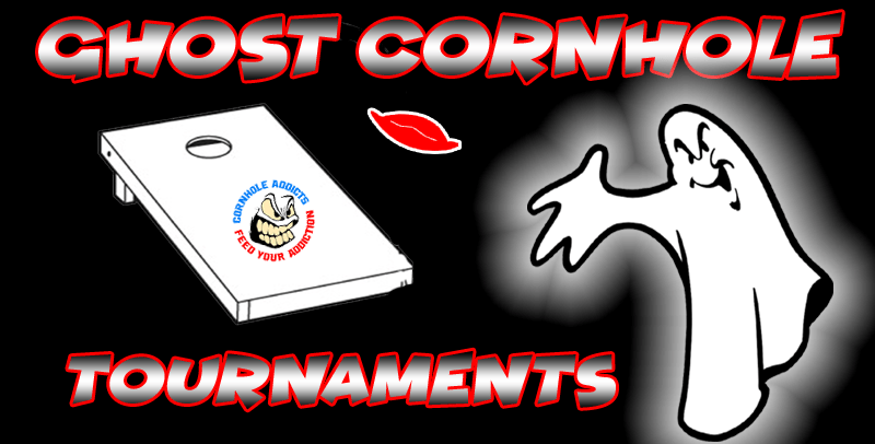 Ghost Cornhole tournament logo