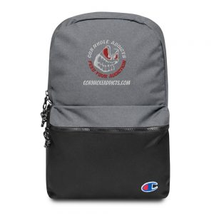 Addicts backpack for cornhole bags and more