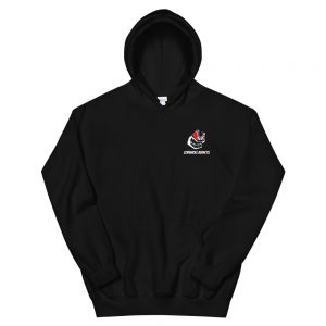 Hoodie with Front and Back Addicts Designs