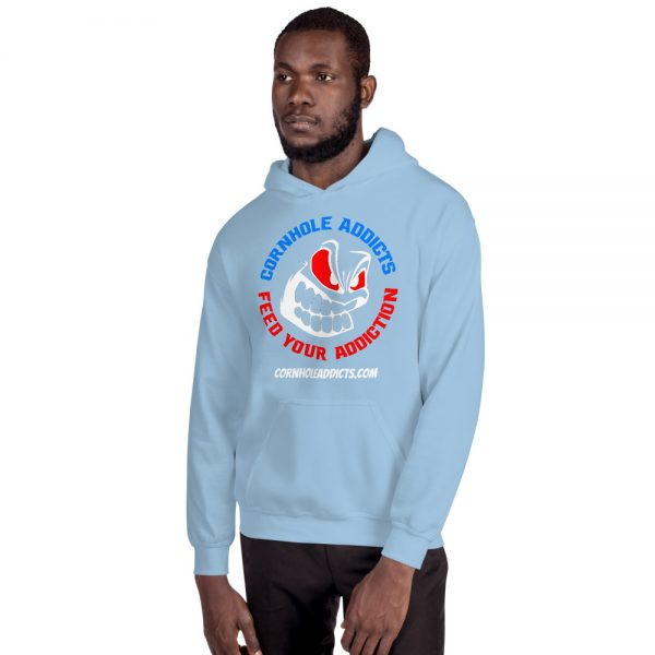 Addicts Hoodie w/Color Front Design 6