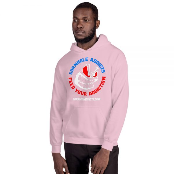 Addicts Hoodie w/Color Front Design 7
