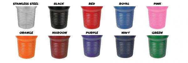 Addicts tumbler colors
