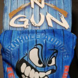 Blue Run N Gun Cornhole Bags