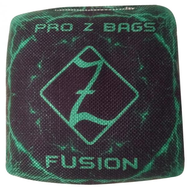 Green Pro Z Fusion cornhole bags