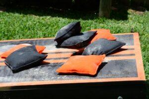 Duck canvas cornhole bags