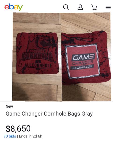 Overpriced fast bag gamechangers