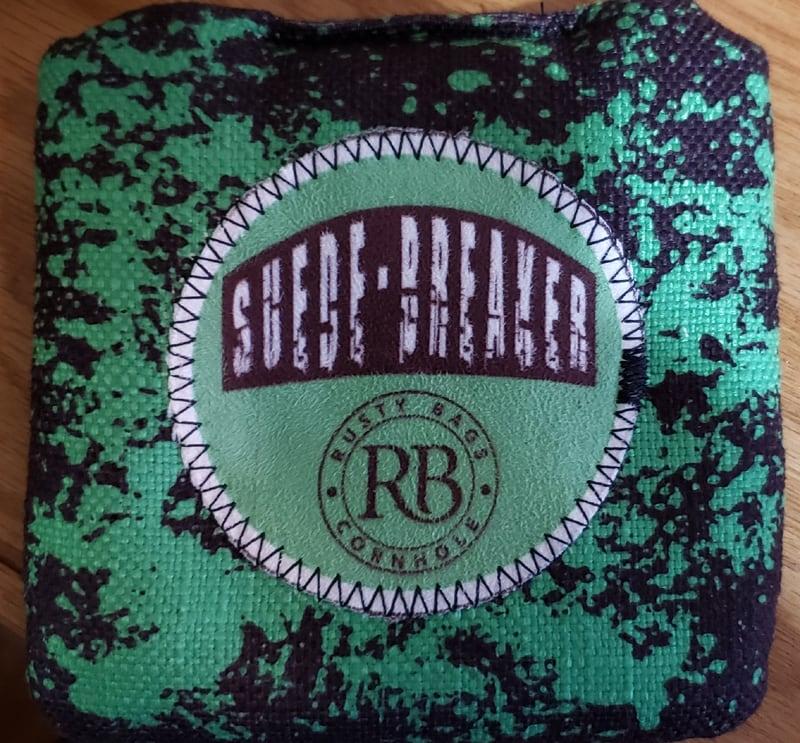Suede breaker cornhole bags patch