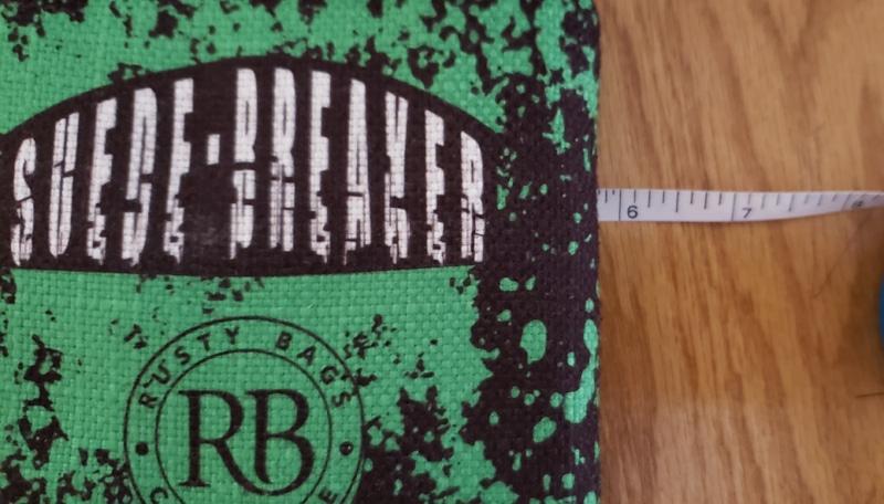 Suede breaker cornhole bags size