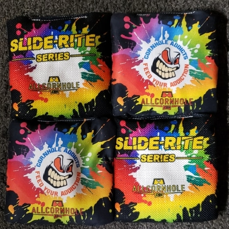 Splatter Black Slide-Rite