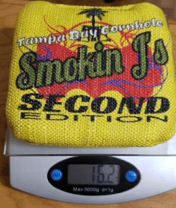 Smoking J's single bag weight