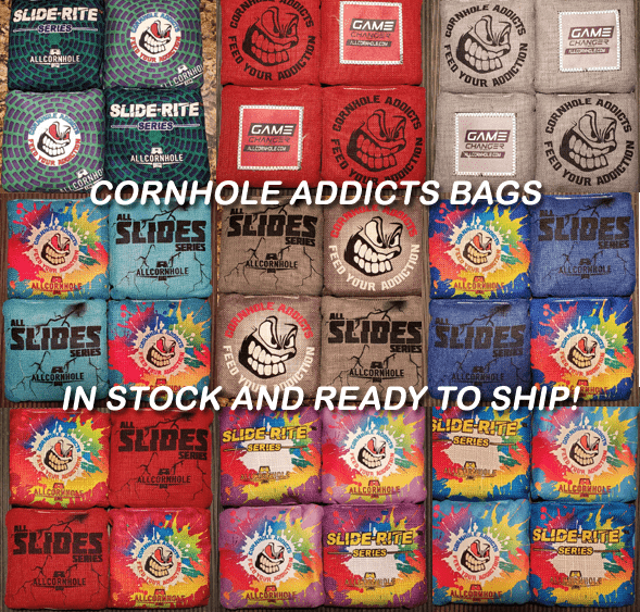 CORNHOLE BAGS IN STOCK AND READY TO SHIP