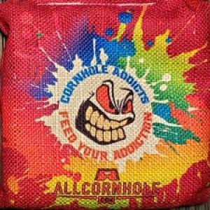 Splatter All Slides Cornhole Bags