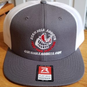 Cornhole Addicts embroidered Richardson hat