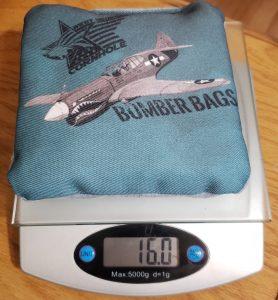 Bomber cornhole bag