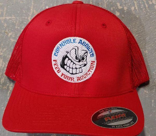 Red Addicts Flexfit hat