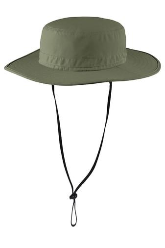 Ilive wide-brim bucket hat front