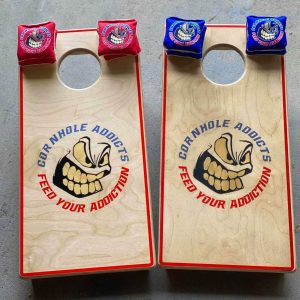 Addicts Mini Cornhole Boards
