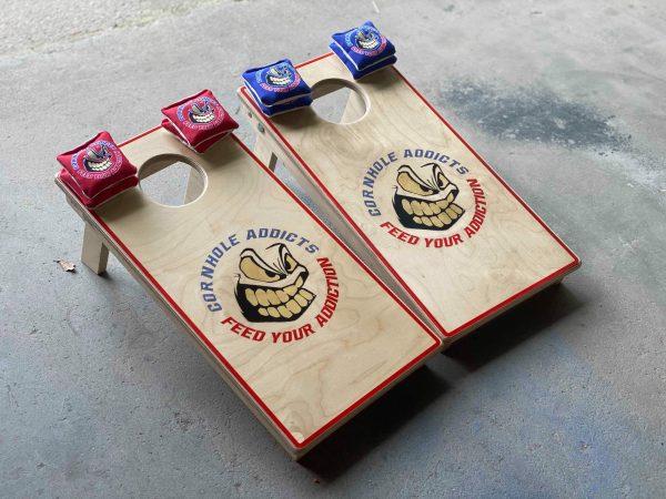 Mini Cornhole Boards for Addicts