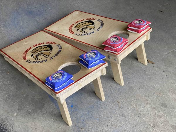 Mini boards for Cornhole Addicts