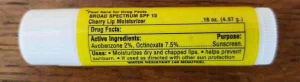 4 Bagger Lip Lube ingredients