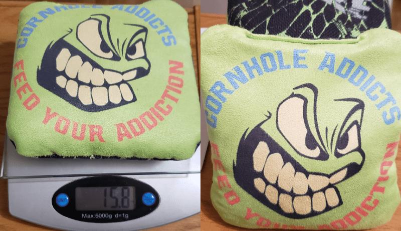 Big Daddy Cornhole Quake series bags