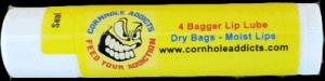 4 Bagger Lip Lube, Chapstick for cornhole players