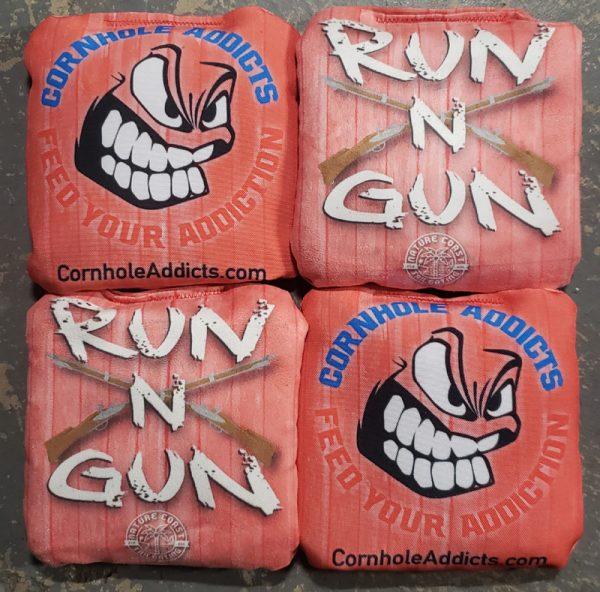Red Cornhole Addicts Run N Gun