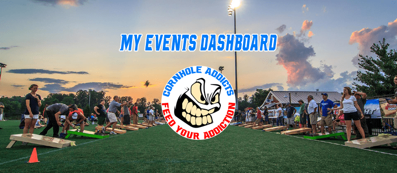 My events dashboard