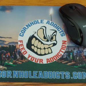 Cornhole Addicts mouse pad