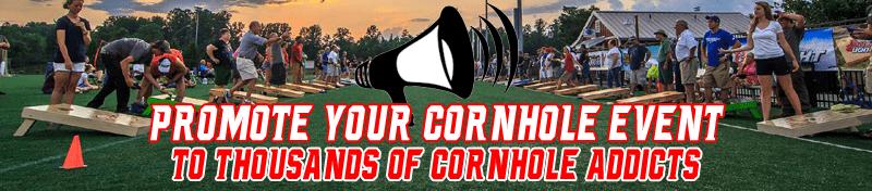 Promote Your Cornhole Event