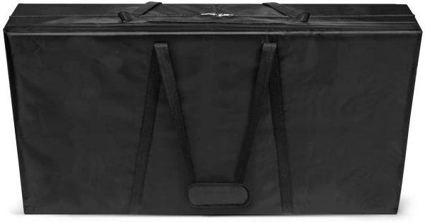 Heavy duty cornhole board carrying case