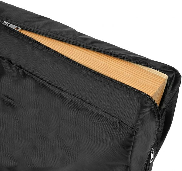 Carrying case holds 2 boards